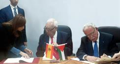 Margallo firma MAP Palestina
